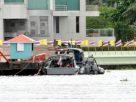 เรือตำรวจน้ำ 2 ลำ เฝ้าระวังม็อบบุกรัฐสภาทางน้ำ พร้อมอพยพคนออกจากสภากรณีมีเหตุฉุกเฉิน