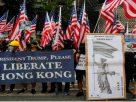 ผู้ชุมนุมฮ่องกงเดินหน้าไปสถานกงสุลสหรัฐ ขอให้ 'ทรัมป์' ช่วยปลดปล่อยฮ่องกง