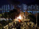 ม็อบหนุนจีนนัดชุมนุมประณามม็อบต่อต้านรัฐบาลฮ่องกงใช้ความรุนแรง
